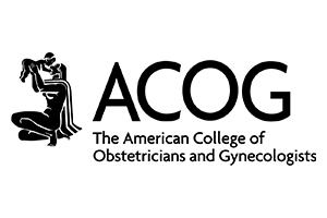 The American college of obestricians and gynecologists logo